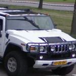 Hummer and Three Wheel car (StreetView)