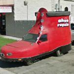 Red Shoe Car (StreetView)
