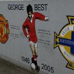 George Best Mural (StreetView)