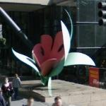'Seattle Tulip' by Tom Wesselmann (StreetView)