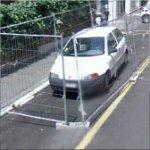 Car in a Cage (StreetView)