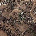 Great tank & military vehicle graveyard (Google Maps)