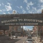 Welcome to Houghton Gateway to the Keweenaw (StreetView)