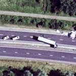 Truck accident (Google Maps)