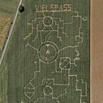 """""""Viel Spass"""" (Much fun) Maze (Google Maps)"""