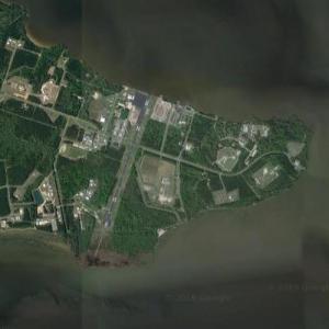 Harvey Point Defense Testing Activity (CIA training facility) (Google Maps)