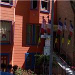 Prayer flags at Kagyu Droden Kunchab (StreetView)