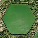 Lago di Traiano (Harbor of Trajan) - hexagonal shaped lake