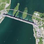 Beauharnois Generating Station (Google Maps)