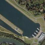 Dorney lake - Eton College Rowing Centre (Google Maps)