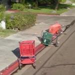 Abandoned Shopping Carts (StreetView)