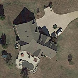Jason Aldean's House (Former) (Google Maps)