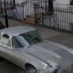 Jaguar E-Type (StreetView)