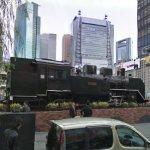 Locomotive on Display (StreetView)