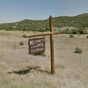 """""""WELCOME TO COLORFUL COLORADO"""" (StreetView)"""