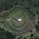 Circular pyramid of Cuicuilco (Google Maps)