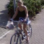 Cyclist (StreetView)