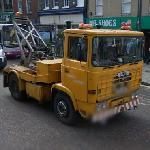 ERF tow truck