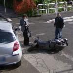 Motorbike crash (StreetView)