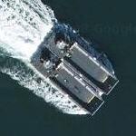 Tandem landing craft