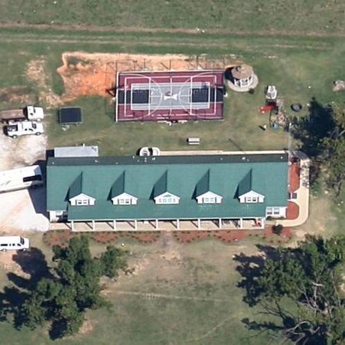 the duggar family's house in springdale, ar (google maps)