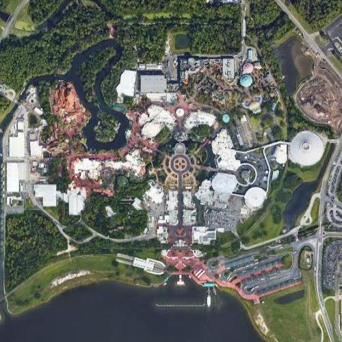 Disney World - Magic Kingdom (Google Maps)