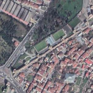 Walls of Constantinople (Google Maps)