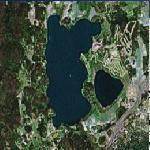 Lake Bodom murders site (Google Maps)