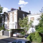 Chris Martin & Gwyneth Paltrow's London House (StreetView)