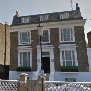 Simon Cowell's London House (StreetView)
