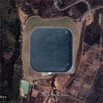 Thailand North East Issan Pakchong artifical water reservoir
