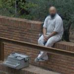Typewriter for sale (StreetView)