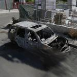 Burned Car (StreetView)