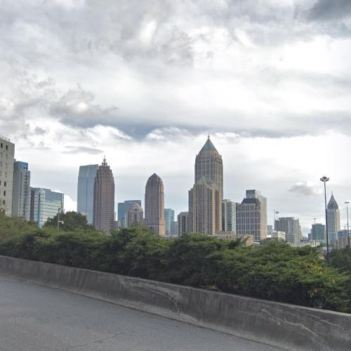 Atlanta Skyline (StreetView)