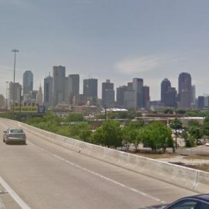 Dallas Skyline (StreetView)
