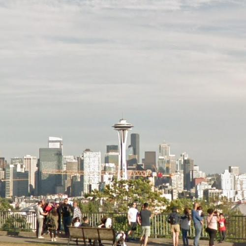Seattle skyline view from Kerry Park (StreetView)