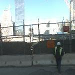 Ground zero, World Trade Center Site.