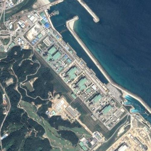Hanul Nuclear Power Plant (Google Maps)