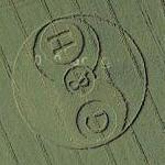 G&H crop circle (Google Maps)