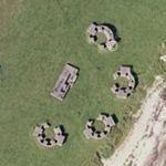 Ballymenach Anti Aircraft Battery (Google Maps)