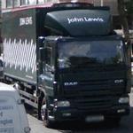 John Lewis Truck (StreetView)