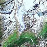 Rhone Glacier (deu: Rhonegletscher)