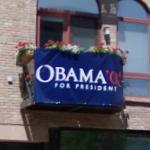 """Obama 08' for president"" (StreetView)"