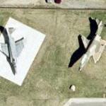 RF-4C & RF-101B on static display (Google Maps)
