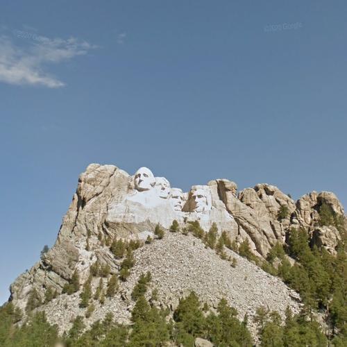 Mount Rushmore (StreetView)