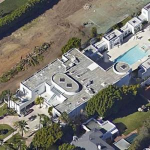 Jackie Collins' House (former) (Google Maps)