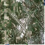 General Wayne A. Downing Peoria International Airport (PIA) (Google Maps)