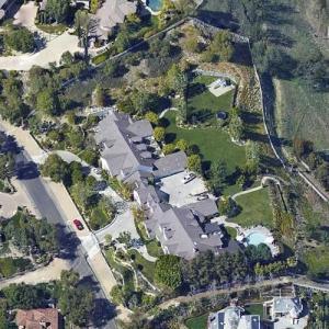 Jennifer Lopez's House (Former) (Google Maps)