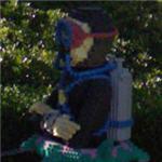 Lego SCUBA diver