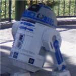 Lego R2D2 (StreetView)